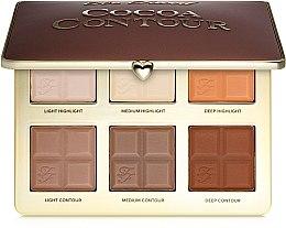 Düfte, Parfümerie und Kosmetik Highlighter- & Konturier-Palette - Too Faced Cocoa Contour Palette