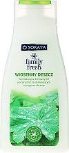 Düfte, Parfümerie und Kosmetik Cremiges Duschgel mit Birkenextrakt - Soraya Family Fresh Spring Rain Shower Cream