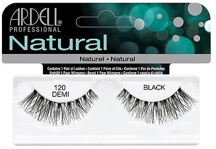 Künstliche Wimpern - Ardell Natural Lashes Demi Black 120 — Bild N1