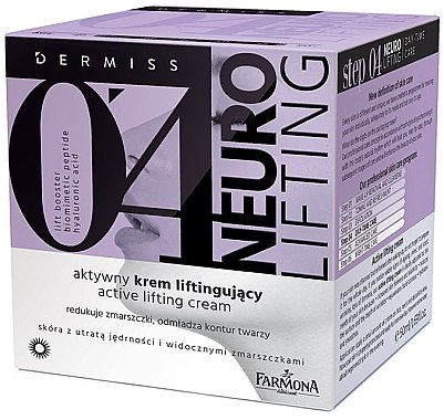 Glättende Gesichtslifting-Creme - Farmona Dermiss 0'4 Neuro Lifting — Bild N1
