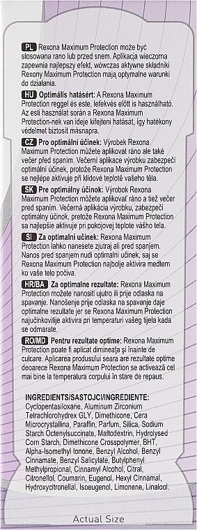 Deostick Antitranspirant - Rexona Maximum Protection Sensitive Dry — Bild N4