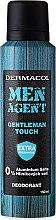 Düfte, Parfümerie und Kosmetik Deospray - Dermacol Men Agent Gentleman Touch Deodorant