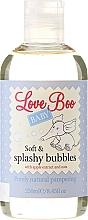 Düfte, Parfümerie und Kosmetik Sanfter Schaumbad mit Apfelextrakt und Hafer für Babys und Kinder - Love Boo Baby Soft & Splashy Bubbles