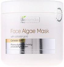 Düfte, Parfümerie und Kosmetik Algen-Gesichtsmaske mit kolloidalem Gold - Bielenda Professional Face Algae Mask