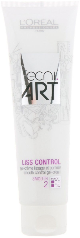 Glättende Styling-Creme für das Haar - L'oreal Professionnel Tecni.art Liss Control — Bild N1