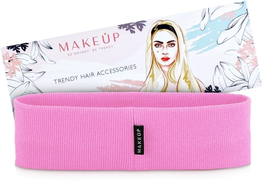 Haarband Be Beauty rosa - MakeUp