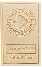 Düfte, Parfümerie und Kosmetik Naturseife Sandelholz - Stara Mydlarnia Body Mania Sandalwood Natural Soap