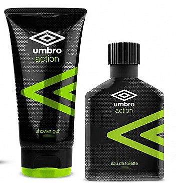 Umbro Action - Duftset (Eau de Toilette/75ml+Duschgel/150ml) — Bild N1