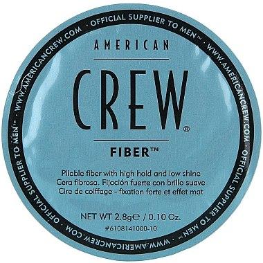 Modellierende Haarpasta mit starkem Halt und Matt-Effekt - American Crew Classic Fiber — Bild N4