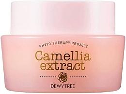Düfte, Parfümerie und Kosmetik Feuchtigkeitsspendende und straffende Gesichtscreme mit Sheabutter und Kamelienextrakt - Dewytree Phyto Therapy Camellia Extract Cream
