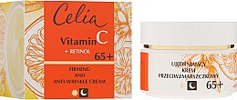 Düfte, Parfümerie und Kosmetik Straffende Anti-Falten Gesichtscreme mit Retinol und Vitamin C 65+ - Celia Witamina C