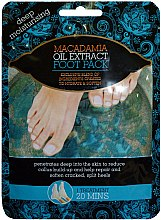 Düfte, Parfümerie und Kosmetik Fußmaske mit Macadamiaextrakt - Xpel Marketing Ltd Macadamia Oil Extract Foot Pack