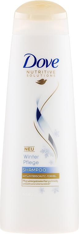 Stärkendes Pflegeshampoo mit Winterschutz-Formel für mehr Glanz und Geschmeidigkeit - Dove Limited Edition Winterpflege Shampoo — Bild N1