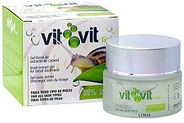 Düfte, Parfümerie und Kosmetik Gesichtscreme für alle Hauttypen mit Schneckenschleimextrakt - Diet Esthetic Organic Snail Gel Vit Vit
