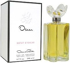 Düfte, Parfümerie und Kosmetik Oscar Oscar De La Renta Espirit D´Oscar - Eau de Toilette