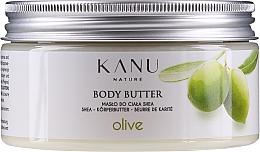 Düfte, Parfümerie und Kosmetik Shea-Körperbutter Olive - Kanu Nature Olive Body Butter