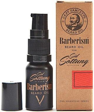 Bartöl - Captain Fawcett Barberism Sid Sottung Beard Oil — Bild N1