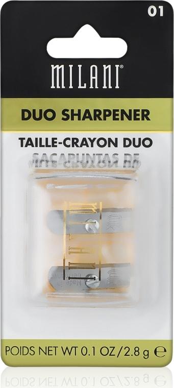 Doppelspitzer - Milani Duo Sharpener — Bild N1