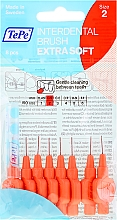 Düfte, Parfümerie und Kosmetik Interdentalbürsten 8 St. - TePe Interdental Brushes Extra Soft 0,5mm