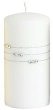 Düfte, Parfümerie und Kosmetik Dekorative Kerze Kolia weiß 10x7 cm - Artman Candle Kolia