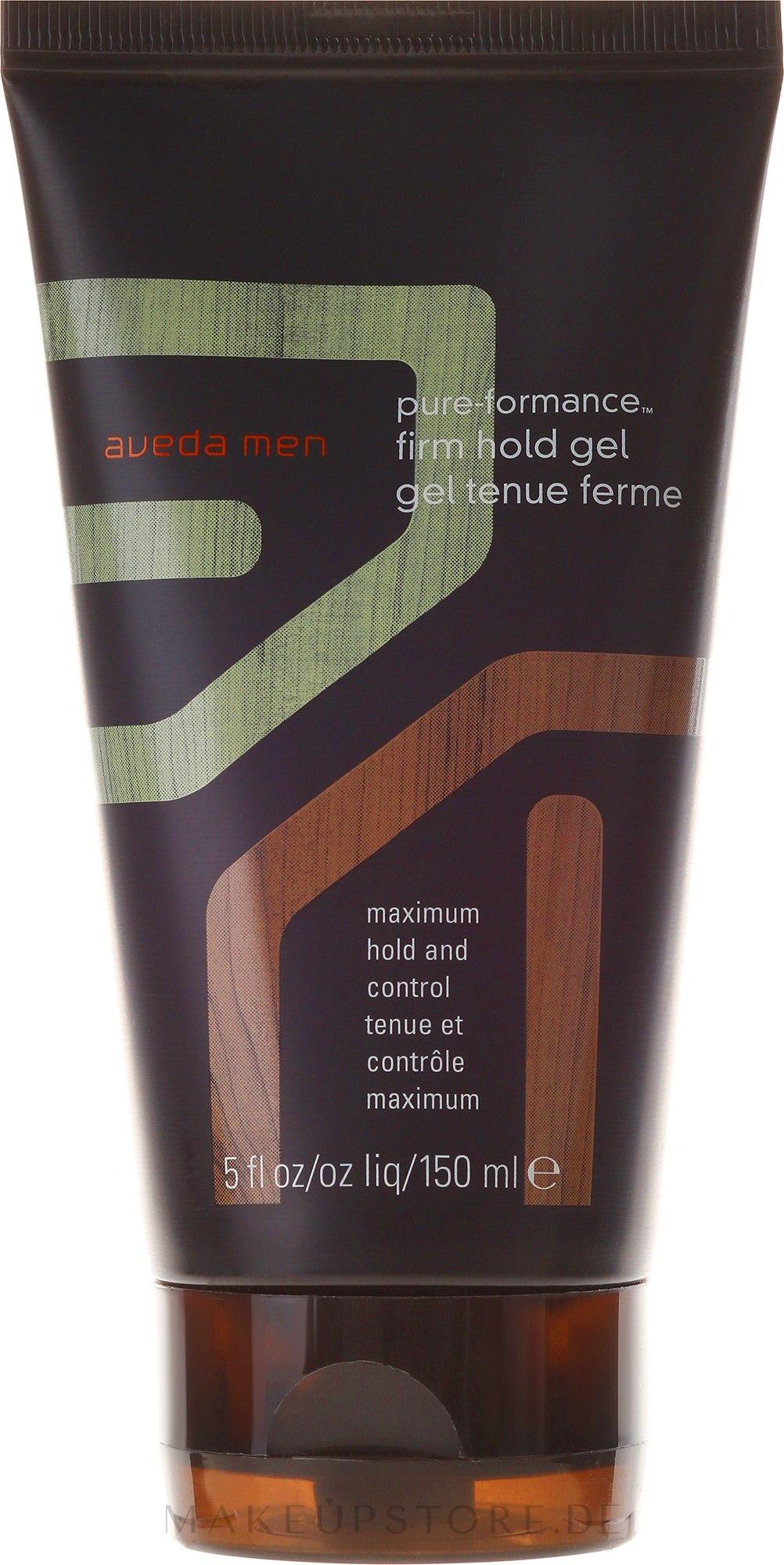 Haargel Starker Halt - Aveda Men Pure-formance Firm Hold Gel — Bild 150 ml