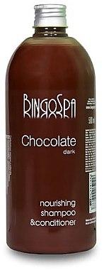 2in1 Schokoladenshampoo- und Spülung - BingoSpa Chocolate Shampoo-Conditioner — Bild N1