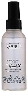Intensiv glättendes und feuchtigkeitsspendendes Haarspülung-Spray für trockenes, sprödes und strumpfes Haar - Ziaja Hair Conditioner Spray — Bild N1