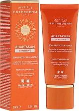 Düfte, Parfümerie und Kosmetik Gesichtscreme für empfindliche Haut - Institut Esthederm Adaptasun Sensitive Protective Face Care
