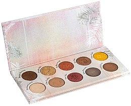 Düfte, Parfümerie und Kosmetik Lidschattenpalette - Peggy Sage Eye Shadows Palette 3D Metal & Mat