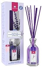 Düfte, Parfümerie und Kosmetik Aroma-Diffusor mit Duftstäbchen Lavendel und Flieder - Cristalinas Reed Diffuser