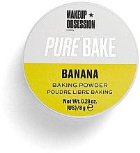 Düfte, Parfümerie und Kosmetik Loser Fixierpuder - Makeup Obsession Pure Bake Baking Powder Banana