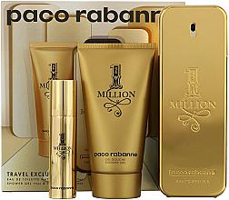 Düfte, Parfümerie und Kosmetik Paco Rabanne 1 Million - Duftset (Eau de Toilette 100ml + Duschgel 75ml + Eau de Toilette Mini 10ml)