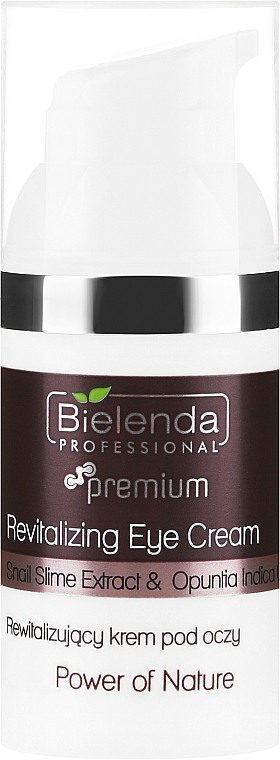 Augencreme gegen tiefe Falten - Bielenda Professional Power Of Nature Revitalizing Eye Cream