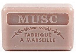 Düfte, Parfümerie und Kosmetik Handgemachte Naturseife Musc - Foufour Savonnette Marseillaise Musc