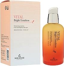 Düfte, Parfümerie und Kosmetik Feuchtigkeitsspendende Gesichtsemulsion für einen gleichmäßigen Teint - The Skin House Vital Bright Emulsion
