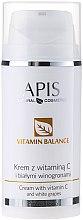 Düfte, Parfümerie und Kosmetik Gesichtscreme mit Vitamin C und weißer Weintraube - APIS Professional Vitamin Balance Cream With Vitamin C and White Grapes