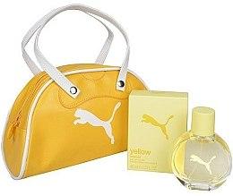 Düfte, Parfümerie und Kosmetik Puma Yellow Woman - Duftset (Eau de Toilette 40ml + Kosmetiktasche)