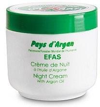 Düfte, Parfümerie und Kosmetik Nachtcreme mit Arganöl - Efas Night Cream With Argan Oil