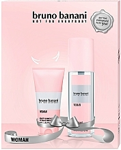 Düfte, Parfümerie und Kosmetik Bruno Banani Woman - Duftset (Körperspray/75ml + Duschgel/50ml)