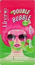 Düfte, Parfümerie und Kosmetik Schaummaske für das Gesicht mit Ton - Lirene Double Bubble Cica Mask