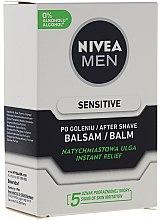 Gesichtspflegeset für Männer - Nivea Men Sensitive Elegance (Rasierschaum 200ml + After Shave Balsam 100ml + Deospray 50ml + Gesichtscreme 75ml) — Bild N2