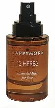Düfte, Parfümerie und Kosmetik Feuchtigkeitsspendender Gesichtsnebel mit Komplex aus 12 Kräutern - Happymore 12 Herbs Essential Mist
