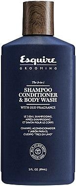 3in1 Shampoo, Conditioner und Duschgel für Männer - CHI Esquire Grooming The 3-in-1 Shampoo Conditioner & Body Wash — Bild N1