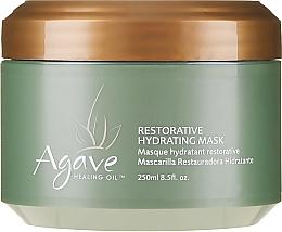Düfte, Parfümerie und Kosmetik Regenerierende&feuchtigkeitsspendende Haarmaske mit Agavenheilöl - Agave Healing Oil Restorative Hydrating Mask