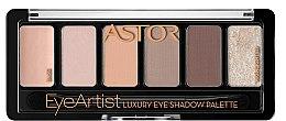 Düfte, Parfümerie und Kosmetik Lidschatten - Astor Eye Artist Luxury Eye Shadow Palette