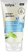 Düfte, Parfümerie und Kosmetik Gesichtsgel-Peeling - Tolpa Urban Garden Face Gel-Peeling Cleanser
