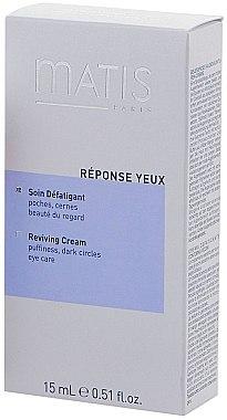 Regenerierende Augencreme SPF 15 - Matis Reponse Yeux Eye Beauty Reviving Cream — Bild N2