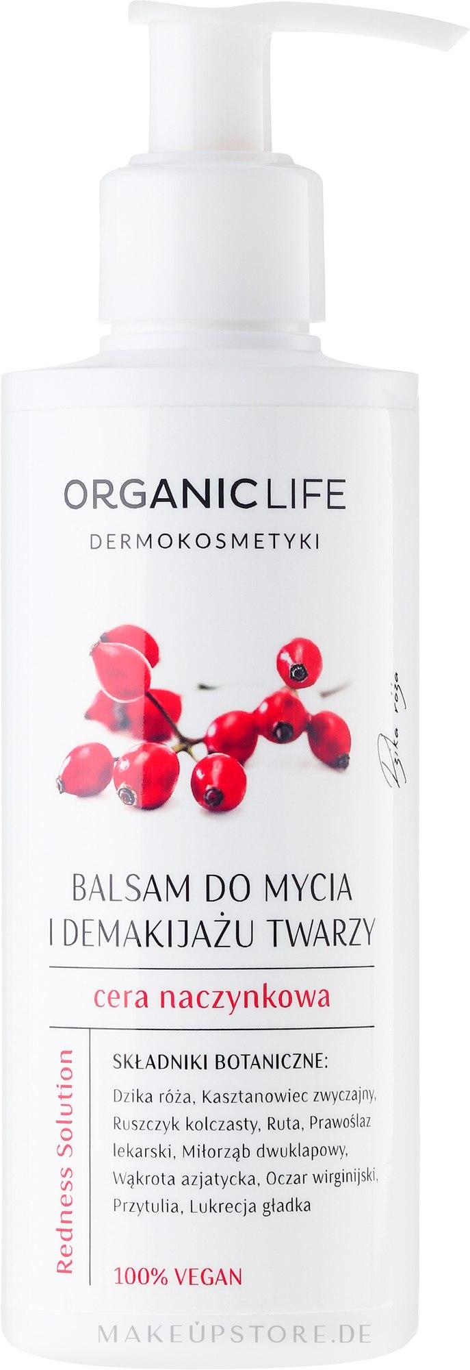 Gesichtsreinigungsbalsam - Organic Life Dermocosmetics Redness Solution — Bild 200 g