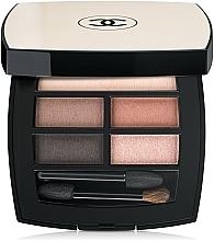 Düfte, Parfümerie und Kosmetik Glanz Lidschatten-Palette - Chanel Les Beiges Healthy Glow Natural Eyeshadow Palette