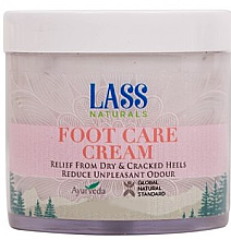 Düfte, Parfümerie und Kosmetik Fußcreme - Lass Naturals Foot Care Cream